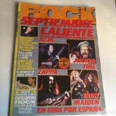 Revistas de música: REVISTA- ROCK ESPEZIAL Nº 37 (SEPTIEMBRE 1984): LA DE LAS FOTOS VER TODAS MIS REVISTASDE MUSICA. Lote 172990109