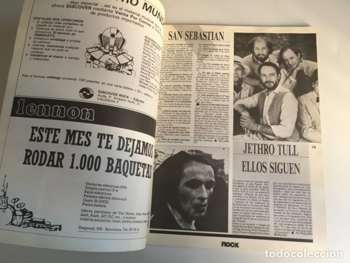 Revistas de música: REVISTA- ROCK ESPEZIAL Nº 37 (SEPTIEMBRE 1984): LA DE LAS FOTOS VER TODAS MIS REVISTASDE MUSICA - Foto 5 - 172990109