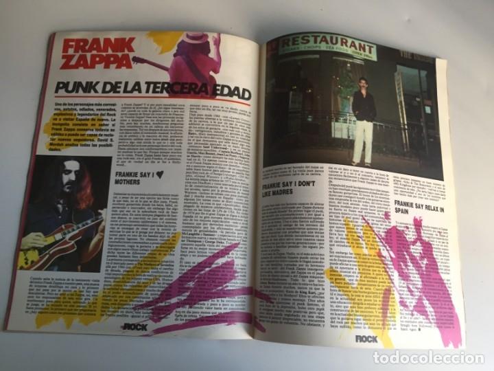 Revistas de música: REVISTA- ROCK ESPEZIAL Nº 37 (SEPTIEMBRE 1984): LA DE LAS FOTOS VER TODAS MIS REVISTASDE MUSICA - Foto 11 - 172990109