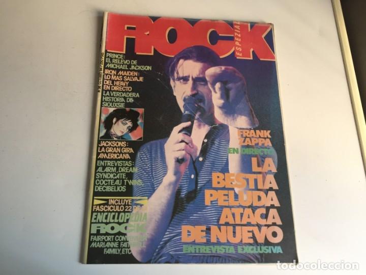 REVISTA- ROCK ESPEZIAL Nº 38 (OCTUBRE 1984): LA DE LAS FOTOS VER TODAS MIS REVISTASDE MUSICA (Música - Revistas, Manuales y Cursos)