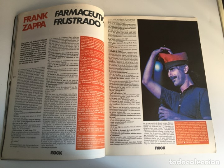 Revistas de música: REVISTA- ROCK ESPEZIAL Nº 38 (OCTUBRE 1984): LA DE LAS FOTOS VER TODAS MIS REVISTASDE MUSICA - Foto 5 - 172990322