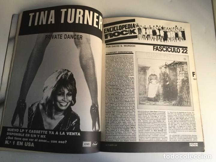Revistas de música: REVISTA- ROCK ESPEZIAL Nº 38 (OCTUBRE 1984): LA DE LAS FOTOS VER TODAS MIS REVISTASDE MUSICA - Foto 7 - 172990322
