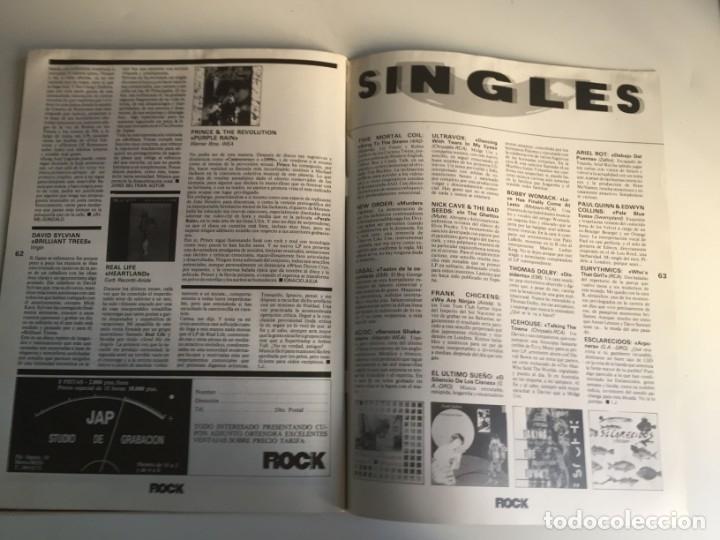 Revistas de música: REVISTA- ROCK ESPEZIAL Nº 38 (OCTUBRE 1984): LA DE LAS FOTOS VER TODAS MIS REVISTASDE MUSICA - Foto 13 - 172990322
