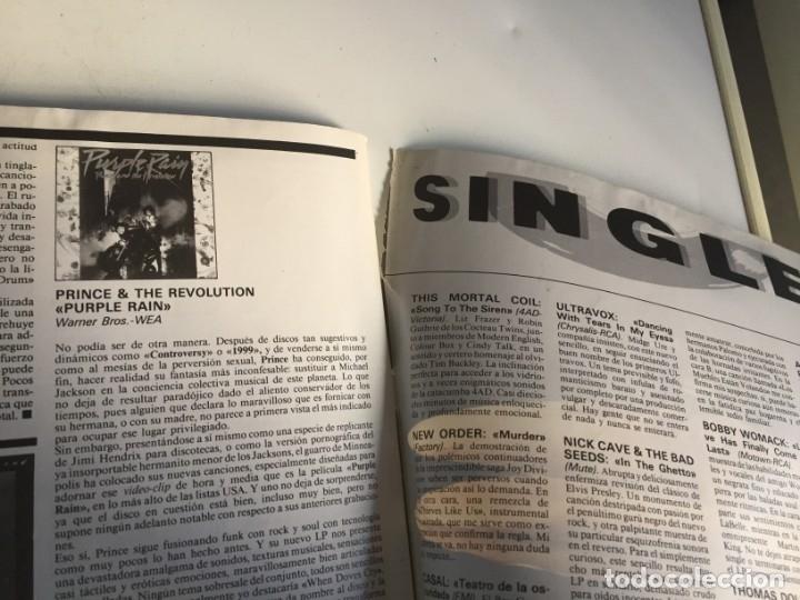 Revistas de música: REVISTA- ROCK ESPEZIAL Nº 38 (OCTUBRE 1984): LA DE LAS FOTOS VER TODAS MIS REVISTASDE MUSICA - Foto 14 - 172990322
