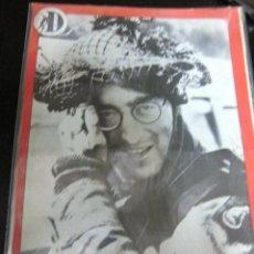 Revistas de música: BEATLES JOHN LENNON CONTRAPORTADA COMO GANE LA GUERRA REVISTA MUSICAL DISCOBOLO ORIGINAL EPOCA 1966 . Lote 173048544