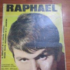 Revistas de música: REVISTA DE IMPORTACION RAPHAEL // PALITO ORTEGA , VER FOTOS. Lote 173488748