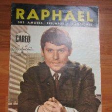 Revistas de música: REVISTA DE IMPORTACION RAPHAEL , POSTER EN HOJA CENTRAL , VER FOTOS. Lote 173488795