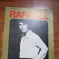 Revistas de música: RAPHAEL TEMPORADA 70/71 FOTOS DE TODAS LAS HOJAS. Lote 173488934