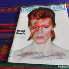 Revistas de música: ROCKDELUX Nº 347 DAVID BOWIE 1947 2016 ESPECIAL 30 PÁGINAS, LEMMY MOTÖRHEAD, 091, THE BEACH BOYS..... Lote 173518324