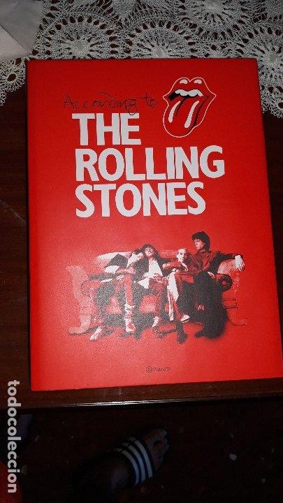 ROLLING STONES- ACORDING TO..... LIBRO CON TAPA DURA-TEXTO ESPAÑOL- (Música - Revistas, Manuales y Cursos)
