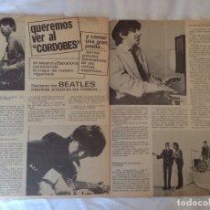 Revistas de música: BEATLES - CLIP ESPAÑOL 1965. Lote 173574574