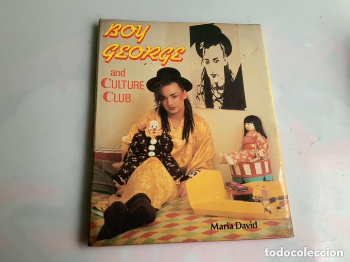 Revistas de música: BOY GEORGE AND CULTURE CLUB / MARIA DAVID - EDICION EN INGLES , TAPA DURA CON SOBRECUBIERTA - Foto 1 - 173925540
