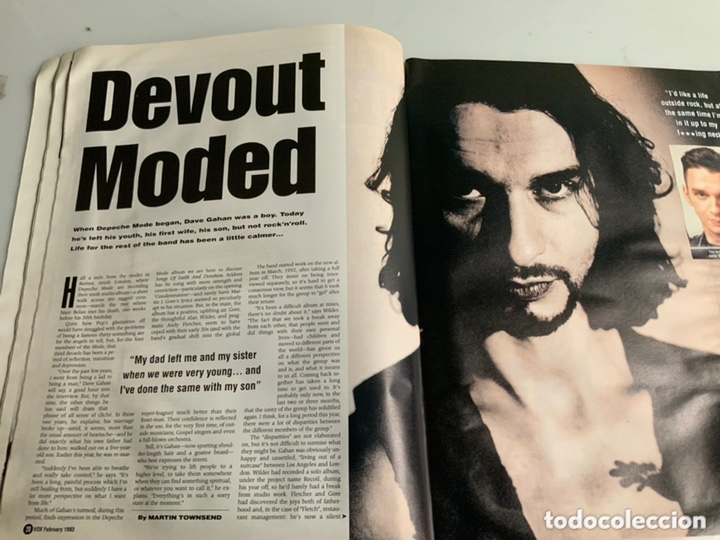 Revistas de música: Vox: February 1993 - UK Music Magazine - Depeche Mode, Annie Lennox, Ice-T - Foto 3 - 173925950