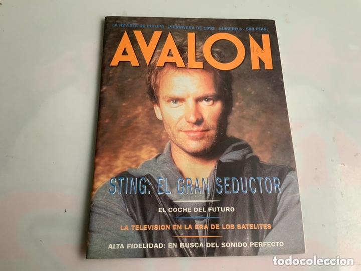 AVALON Nº 3 - STING: EL GRAN SEDUCTOR AÑO 1993 (Música - Revistas, Manuales y Cursos)