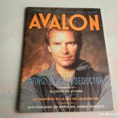 Revistas de música: AVALON Nº 3 - STING: EL GRAN SEDUCTOR AÑO 1993. Lote 173926952