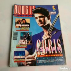 Revistas de música: BOOGIE Nº 38 1991. BURNING, CHRIS ISAAK, JESUS JONES, QUEEN, BOB MARLEY, LOS LIMONES. Lote 173928974