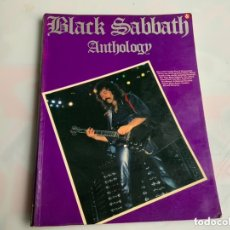 Revistas de música: BLACK SABBATH ANTHOLOGY ( INGLÉS ) TAPA BLANDA AÑO 1986. Lote 173929797