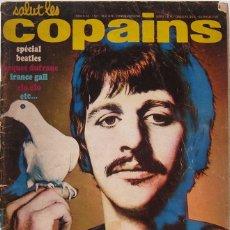 Revistas de música: SALUT LES COPAINS Nº 68 MARZO 1968. ESPECIAL BEATLES. Lote 174050492