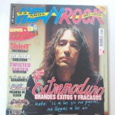 Revistas de música: HEAVY ROCK Nº 249 - EXTREMODURO, LA RENGA, LOS PIOJOS, EL TRI, IN FLAMES, SLIPKNOT (CON POSTERS). Lote 174064125