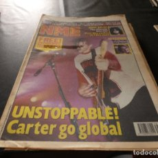 Revistas de música: REVISTA EN INGLES NEW MUSICAL EXPRESS 31 SEPTIEMBRE 1991 UNSOTPABBLE CARTER. Lote 174077902
