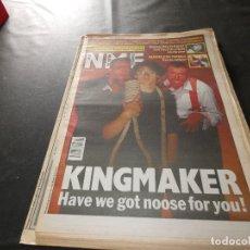 Revistas de música: REVISTA EN INGLES NEW MUSICAL EXPRESS 11 ENERO 1992 KINGMAKER. Lote 174078390