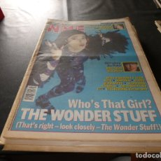Revistas de música: REVISTA EN INGLES NEW MUSICAL EXPRESS 14 DICIEMBRE 1991 THE WONDER STUFF. Lote 174079019