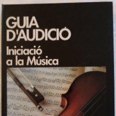 Revistas de música: GUIA D'AUDICIÓ - INICIACIÓ A LA MÚSICA - INCLUYE REVISTA EN CATALÀN Y DOS CD'S - PLANETA 1996. Lote 174167229