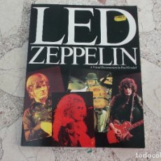 Revistas de música: LED ZEPPELIN,A VISUAL DOCUMENTARY BY PAUL KENDALL, OMNIBUS PRESS, EN INGLES, TODO FOTOS ,1982. Lote 174306480