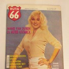 Riviste di musica: RUTA 66 - Nº 27 - MAMIE VAN DOREN, LA FRONTERA, JOHNNY CASH, SMASH, ROBERT QUINE, SINNERS, THEM. Lote 174952642