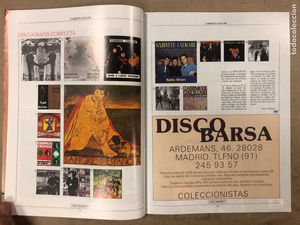 Revistas de música: DISCO MARKET N° 4 (1988). GABINETE CALIGARI, MORRISEY, VENENO, RAMONCIN, CHRIS ISAAK, R.E.M.,... - Foto 3 - 175151217