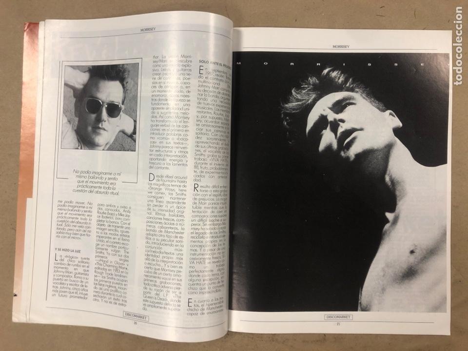 Revistas de música: DISCO MARKET N° 4 (1988). GABINETE CALIGARI, MORRISEY, VENENO, RAMONCIN, CHRIS ISAAK, R.E.M.,... - Foto 4 - 175151217