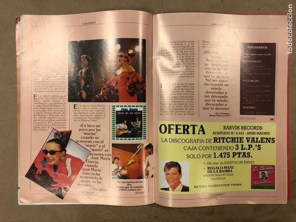 Revistas de música: DISCO MARKET N° 4 (1988). GABINETE CALIGARI, MORRISEY, VENENO, RAMONCIN, CHRIS ISAAK, R.E.M.,... - Foto 5 - 175151217