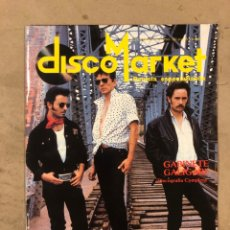 Revistas de música: DISCO MARKET N° 4 (1988). GABINETE CALIGARI, MORRISEY, VENENO, RAMONCIN, CHRIS ISAAK, R.E.M.,.... Lote 175151217