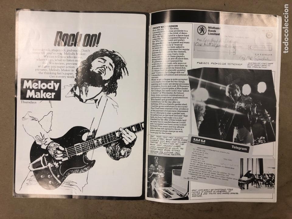 Revistas de música: CARAVAN. REVISTA PROMOCIONAL DE LA BANDA INGLESA DE ROCK PROGRESIVO-PSICODÉLICO. 1976 BTM RECORDS. - Foto 4 - 175154865