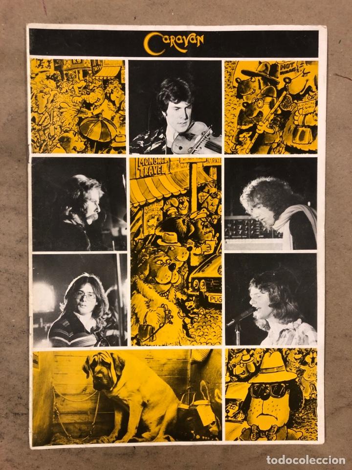 CARAVAN. REVISTA PROMOCIONAL DE LA BANDA INGLESA DE ROCK PROGRESIVO-PSICODÉLICO. 1976 BTM RECORDS. (Música - Revistas, Manuales y Cursos)