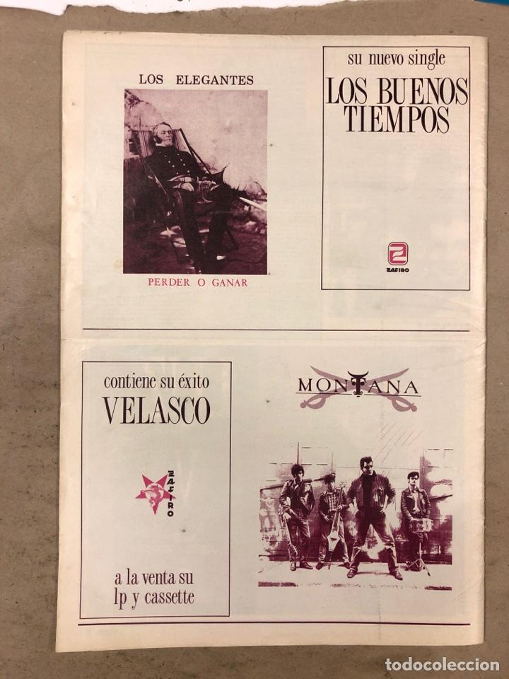 Revistas de música: BOOGIE N° 15 (MAYO '89). STRAY CATS, BURNING, MANOLO TENA, TAM TAM GO!, REPORTAJE CENSURA,.. - Foto 6 - 175282993