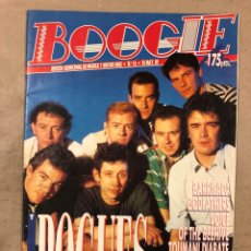 Revistas de música: BOOGIE N° 16 (MAYO '89). BARRICADA, ROSENDO, THE POGUES, GODFATHERS, CREATION RECORDS,... Lote 175284419