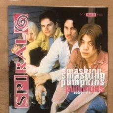Revistas de música: SPIRAL Nº 8 (MARZO, 1994) SMASHING PUMPKINS, RIDE, ELIMINATOR JR., SLOWDIVE, NICK DRAKE, HIP HOP ESP. Lote 175291059