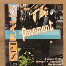 Revistas de música: SPIRAL N° 11 (JUNIO '94). PAVEMENT, COCTEAU TWINS, LOS PLANETAS (SUPER 8), THE CREPITOS, THE AUTEURS. Lote 175292329