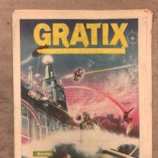 Revistas de música: GRATIX Nº 2 (1984). BURNING, LOS CHICHOS, P.V.P, TARZAN, ALASKA Y DINARAMA, GRUPO SPORTIVO, LOS REBE. Lote 175298420
