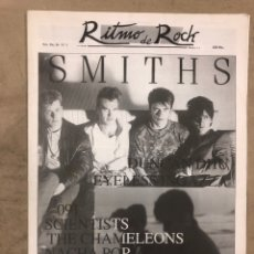 Revistas de música: RITMO DE ROCK N° 1 (NOV/DIC. '86). THE SMITHS, NACHA POP, 091, DUNCAN DHU, MODS, DANZA INVISIBLE. Lote 175300627