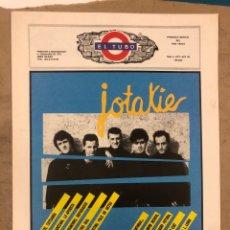 Revistas de música: EL TUBO N° 5 (OCT/NOV. '89). JOTAKIE, SURFIN BICHOS, METALLICA, RADIO FUTURA, LOS PRIMORDIALES, LOQU. Lote 175301459