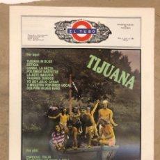 Revistas de música: EL TUBO N° 4 (SEPT/OCT. '89). TIJUANA IN BLUE, ESTIGIA, DANBA, LA SECTA,POLÉMICA GAZTETXE BILBO, LOQ. Lote 175301764