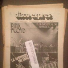 Revistas de música: DISCO EXPRES 282 : PINK FLOYD,JOHN MAYALL,STORM,LOU REED,ALCATRAZ,RON WOOD,CAT STEVENS,DEODATO. Lote 175440035