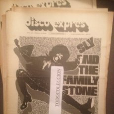 Revistas de música: DISCO EXPRES 242 :SLY AND THE FAMILY STONE, ROLLING STONES,HILARIO CAMACHO,VICTOR MANUEL,PETER GREEN. Lote 175505183