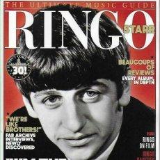 Revistas de música: RINGO STARR UNCUT THE ULTIMATE MUSIC GUIDE 2019 UK MAGAZINE BEATLES REVISTA. Lote 175590938