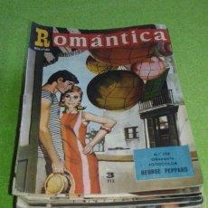 Revistas de música: REVISTA ROMANTICA 44 EJEMPLARES ORIGINALES AÑOS 60. Lote 175633840