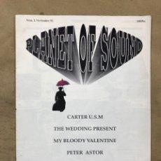 Revistas de música: PLANET OF SOUND N° 2 (BARCELONA 1992). FANZINE ORIGINAL; PENELOPE TRIP, TRILOBITES, TOM WAITS, MY BL. Lote 175725200