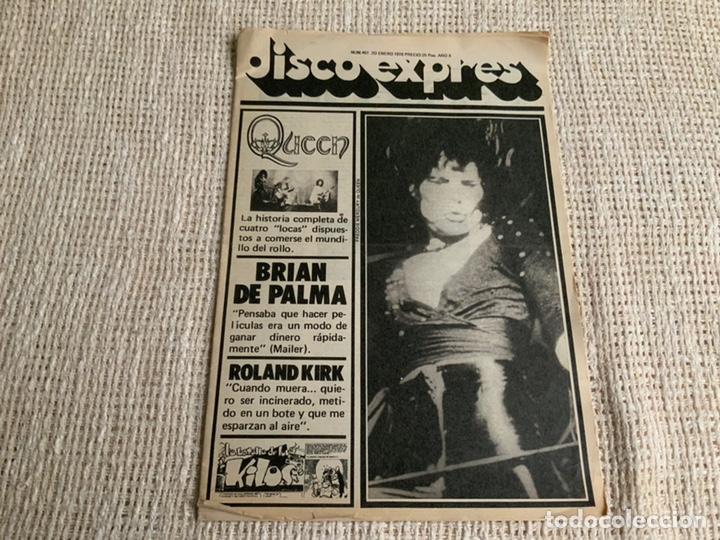 DISCO EXPRES Nº 461 QUEEN BRIAN DE PALMA, ROLAND KIRK, ENERO 1978 (Música - Revistas, Manuales y Cursos)