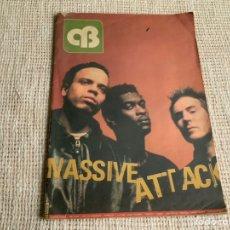Revistas de música: REVISTA OB - CORNELIAS, MASSIVE ATTACK - EDICION AÑOS 90. Lote 176117939
